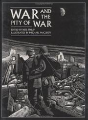 Cover art for WAR AND THE PITY OF WAR
