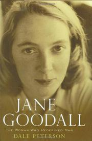 Book Cover for JANE GOODALL