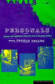 Cover art for PERSONALS