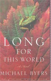 Book Cover for LONG FOR THIS WORLD