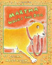 Cover art for MARTHA WALKS THE DOG