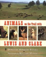 Cover art for ANIMALS ON THE TRAIL WITH LEWIS AND CLARK