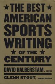 Cover art for THE BEST AMERICAN SPORTS WRITING OF THE CENTURY
