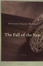 Cover art for THE FALL OF THE YEAR