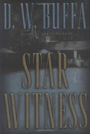 Cover art for STAR WITNESS