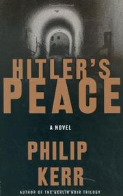 Cover art for HITLER'S PEACE