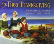Book Cover for THE FIRST THANKSGIVING