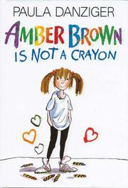 Book Cover for AMBER BROWN IS NOT A CRAYON