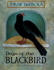 Cover art for DAYS OF THE BLACKBIRD