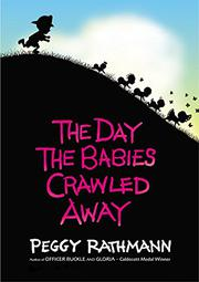 Cover art for THE DAY THE BABIES CRAWLED AWAY