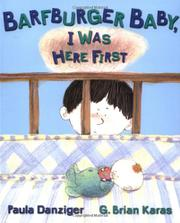 Book Cover for BARFBURGER BABY, I WAS HERE FIRST