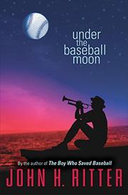 Book Cover for UNDER THE BASEBALL MOON