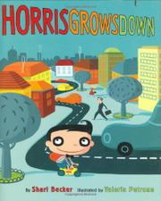 Cover art for HORRIS GROWS DOWN