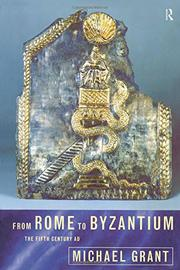 Cover art for FROM ROME TO BYZANTIUM