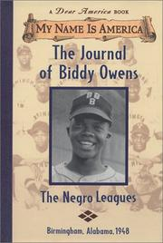 Cover art for THE JOURNAL OF BIDDY OWENS