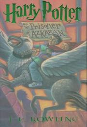 Cover art for HARRY POTTER AND THE PRISONER OF AZKABAN