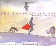 Cover art for THE THREE QUESTIONS