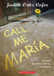 Book Cover for CALL ME MARIA