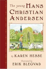 Cover art for THE YOUNG HANS CHRISTIAN ANDERSEN