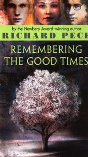 Cover art for REMEMBERING THE GOOD TIMES
