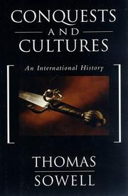 Cover art for CONQUESTS AND CULTURES