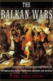 Cover art for THE BALKAN WARS
