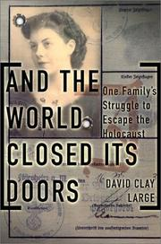 Cover art for AND THE WORLD CLOSED ITS DOORS