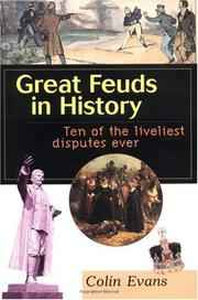 Cover art for GREAT FEUDS IN HISTORY