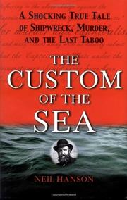 Cover art for THE CUSTOM OF THE SEA