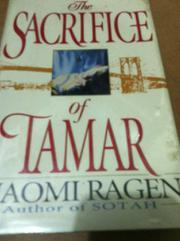 Cover art for THE SACRIFICE OF TAMAR
