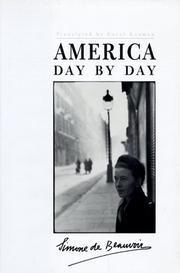 Cover art for AMERICA DAY BY DAY