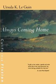 Book Cover for ALWAYS COMING HOME