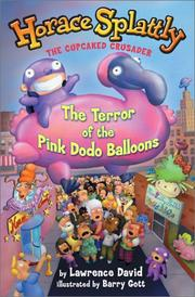 Cover art for THE TERROR OF THE PINK DODO BALLOONS