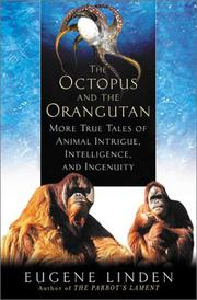 Cover art for THE OCTOPUS AND THE ORANGUTAN