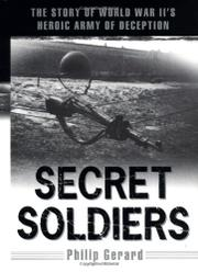 Cover art for SECRET SOLDIERS