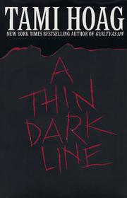 Book Cover for A THIN DARK LINE