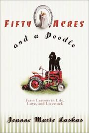 Book Cover for FIFTY ACRES AND A POODLE