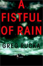 Cover art for A FISTFUL OF RAIN