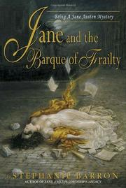 Cover art for JANE AND THE BARQUE OF FRAILTY