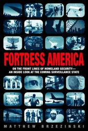 Cover art for FORTRESS AMERICA