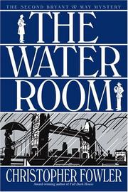 Cover art for THE WATER ROOM