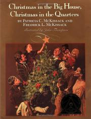 Cover art for CHRISTMAS IN THE BIG HOUSE, CHRISTMAS IN THE QUARTERS