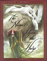 Book Cover for THE NAMES UPON THE HARP