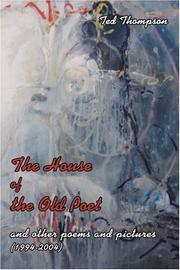 Cover art for THE HOUSE OF THE OLD POET
