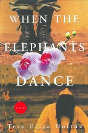Cover art for WHEN THE ELEPHANTS DANCE