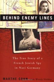 Book Cover for BEHIND ENEMY LINES