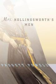 Cover art for MRS. HOLlINGSWORTH'S MEN