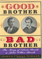 Book Cover for GOOD BROTHER, BAD BROTHER