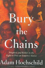 Book Cover for BURY THE CHAINS