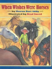 Cover art for WHEN WISHES WERE HORSES